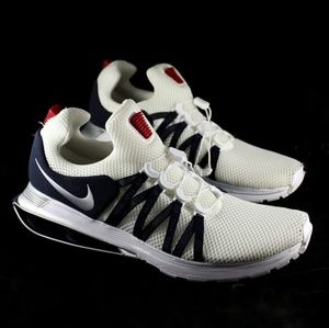 Nike Shoes | Mens Nike Shox Gravity Red White Blue